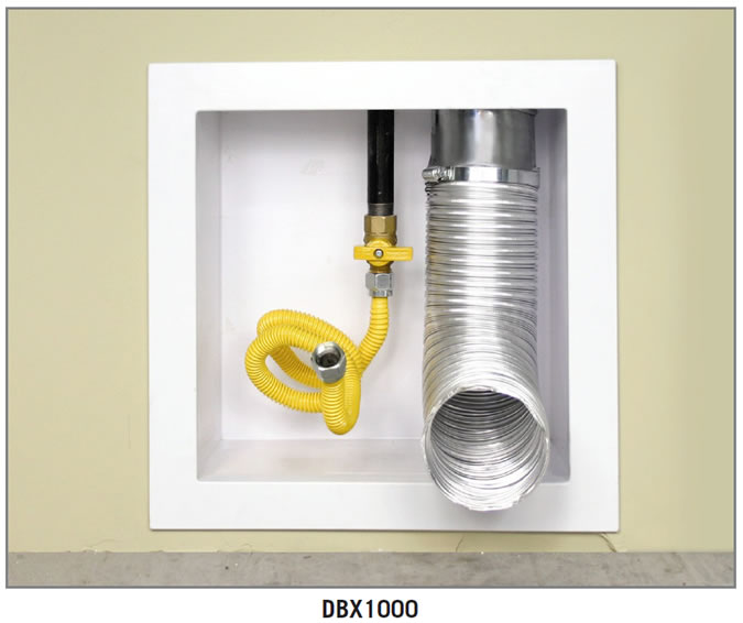 Construction Solutions DBX1000 dryer vent box