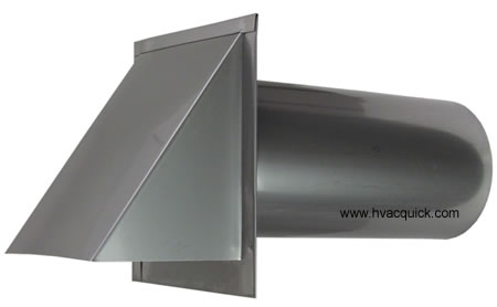 4 inch stainless hood