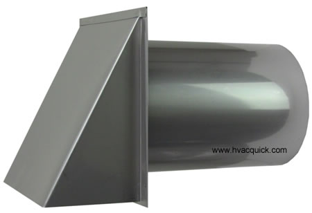 6 inch stainless hood