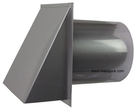 8 inch stainless hood