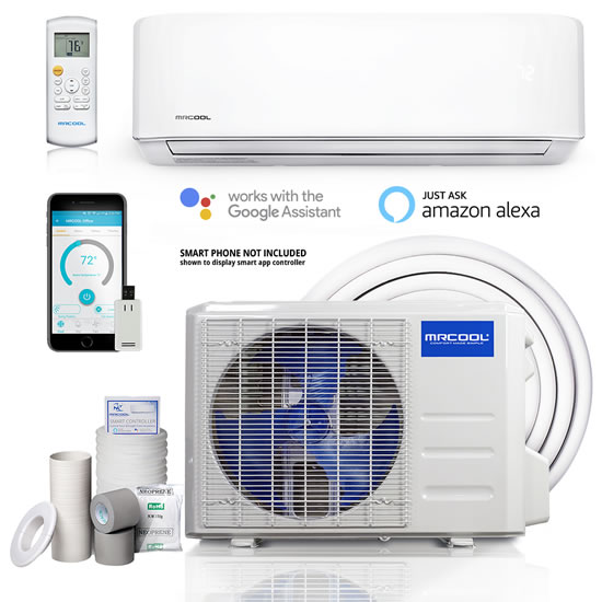 MrCool advantage heat pump system