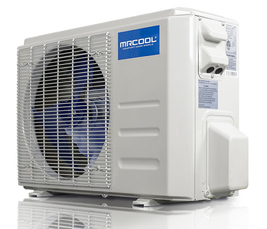 MrCool advantage heat pump condenser