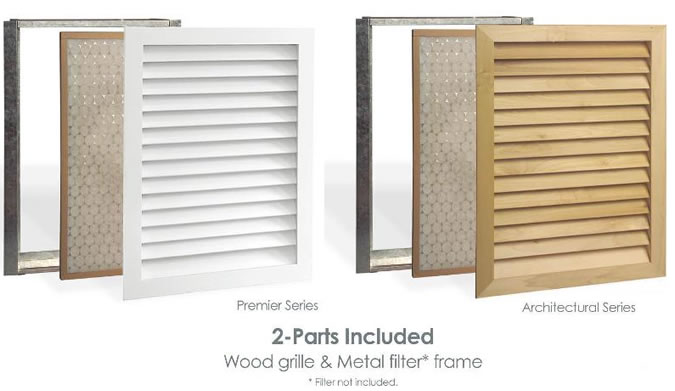 worth home products wood grilles