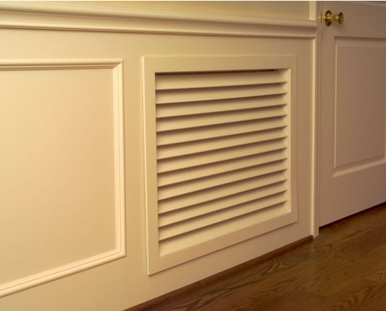 worth home products stain grade wood grilles installed