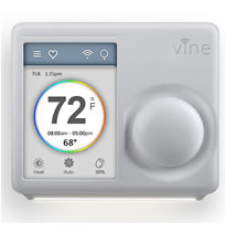 Vine Wi-Fi Thermostat Model TJ-610 With Touchscreen And App Control