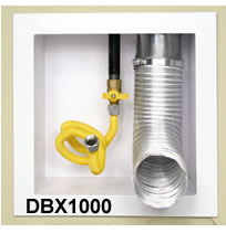 Construction Solutions Plastic and Metal Dryer Vent DBX1000 Boxes