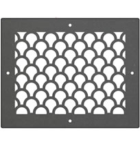 AirScape DesignShape Custom Flat Grilles - Rectangular With Tear Pattern