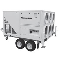 KoldWave HKW Trailer Mounted Air-Cooled Portable Air Conditioners