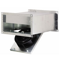 Fantech FRD Inline Rectangular Low Profile Duct Fans
