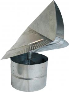 Hvacquick Wind Directional Chimney Caps