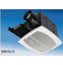 "Fantech FQ Series Quiet Ceiling Mounted Fans - 4"" Duct"