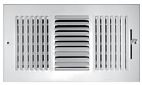 TRUaire 103M Series Stamped 3 Way Sidewall and Ceiling Registers