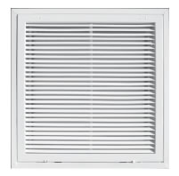 TRUaire 4020FG Series T-Bar Return Air Filter Grilles - Fixed Blade Face