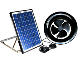 AirScape Gable Mounted Solar Attic Fans