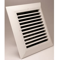 Airtec Series GRE and GRDE Low Clearance 1 Way Grilles - No Boot