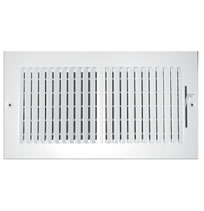 TRUaire 102M Series Stamped 2 Way Sidewall and Ceiling Registers