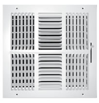 TRUaire 104M Series Stamped 4 Way Sidewall and Ceiling Registers