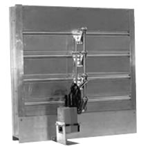 S&P Series ACL Extruded Aluminum Combination Louver and Damper