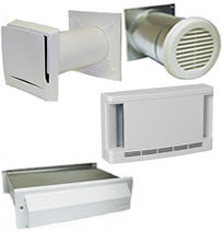 Aldes AIRLET Through-Wall Make-up Air Inlets