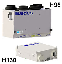 Aldes Aeromatic Series Heat Recovery Ventilators (HRV)