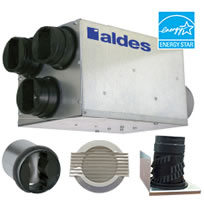Aldes Ventergy Series IAQ-MPVS Multi-Port Ventilator Kits