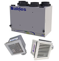 Aldes VentZone Zoned IAQ with Heat Recovery Kits