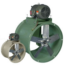 Canarm Leader HTA Belt Drive Tube Axial Duct Fans 3 Phase