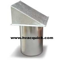 Wall Hoods Galvanized Steel