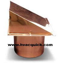 Wall Hoods Copper