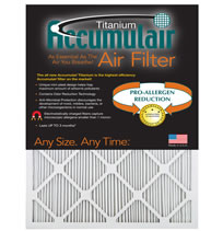 Accumulair Titanium 1 Inch Filters - APR 2250