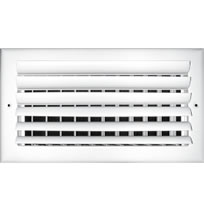 TRUaire A302 Series Double Deflection Curved Blade Grilles